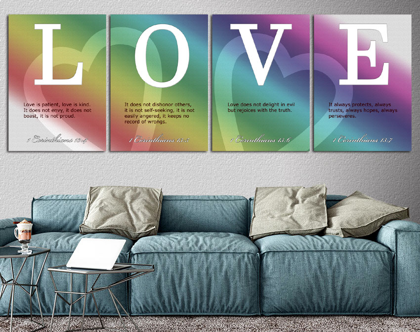 The Love Collection - Unique Prints on Metal
